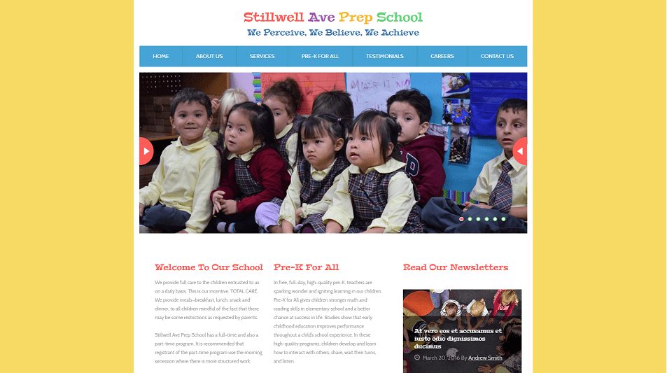 preschool-website